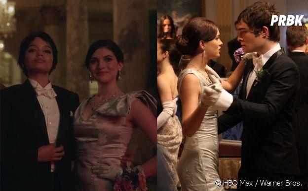 Gossip Girl : le reboot fait un clin d'oeil aux couples de la série originale, Blair et Chuck et Serena et Dan