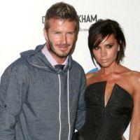 David et Victoria Beckham ... ils pourraient être parrains du fils d'Elton John