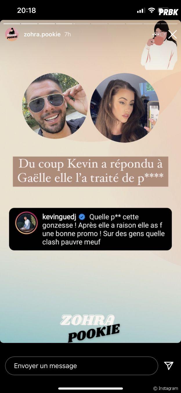 """Gaëlle Garcia Diaz insultée par Kevin Guedj pour sa nouvelle palette """"Tchoin à Buzz"""""""