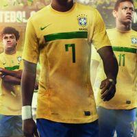 Nike ... Le nouveau maillot du Brésil contre celui de la France