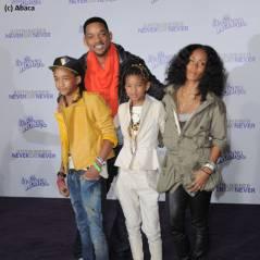 Willow, Jada, Will et Jaden ... La famille Smith au complet à l'avant-première de Never Say Never
