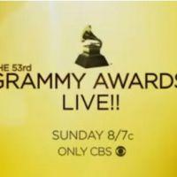 Grammy Awards 2011 ... découvrez la vidéo promo