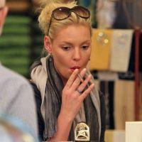Katherine Heigl ... Elle lutte pour arrêter de fumer depuis plus de six mois