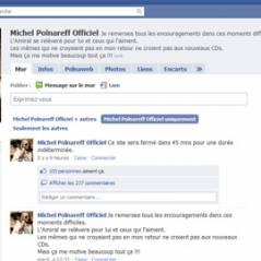 Michel Polnareff ... menace de fermeture de sa page Facebook