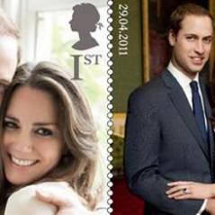 Prince William et Kate Middleton ... des timbres à leur effigie