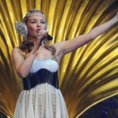 Kylie Minogue... grand concours de t-shirt