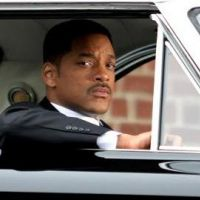 PHOTOS ... Will Smith classe et souriant sur le tournage de Men in Black 3