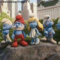 Les Schtroumpfs 3D... L'affiche internationale du film
