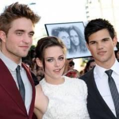 Twilight 4 : Robert Pattinson, Kristen Stewart et Taylor Lautner sur la même affiche (PHOTO)