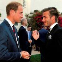 Prince William : il rencontre David Beckham (PHOTOS)