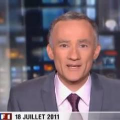 Gilles Bouleau et son premier JT de TF1 : un carton (VIDEO)