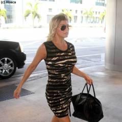 PHOTOS - Fergie en robe moulante à Miami