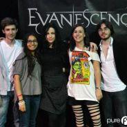 Evanescence : nos fans ont rencontré le groupe pour une pré-écoute du nouvel album