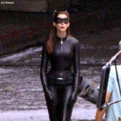 Anne Hathaway en Catwoman : sur le tournage de Batman The Dark Knight Rises (PHOTOS)