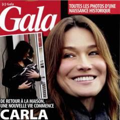 Carla Bruni : Gala révèle la taille et le poids de sa fille, Giulia Sarkozy