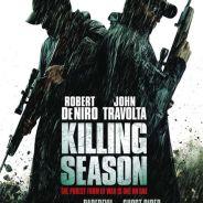 Robert De Niro face à John Travolta dans le film Killing Season (PHOTO)