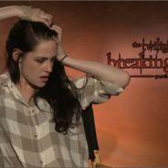 Twilight 4 : quand Kristen Stewart se moque de Robert Pattinson (VIDEO)