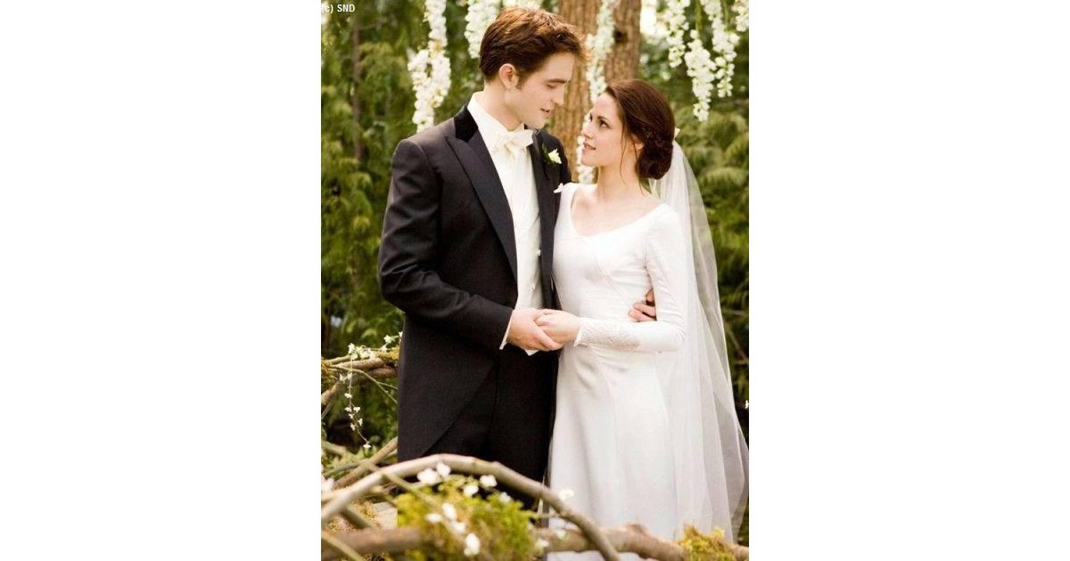 Twilight 4 Les Photos Du Mariage Dedward Et Bella Enfin