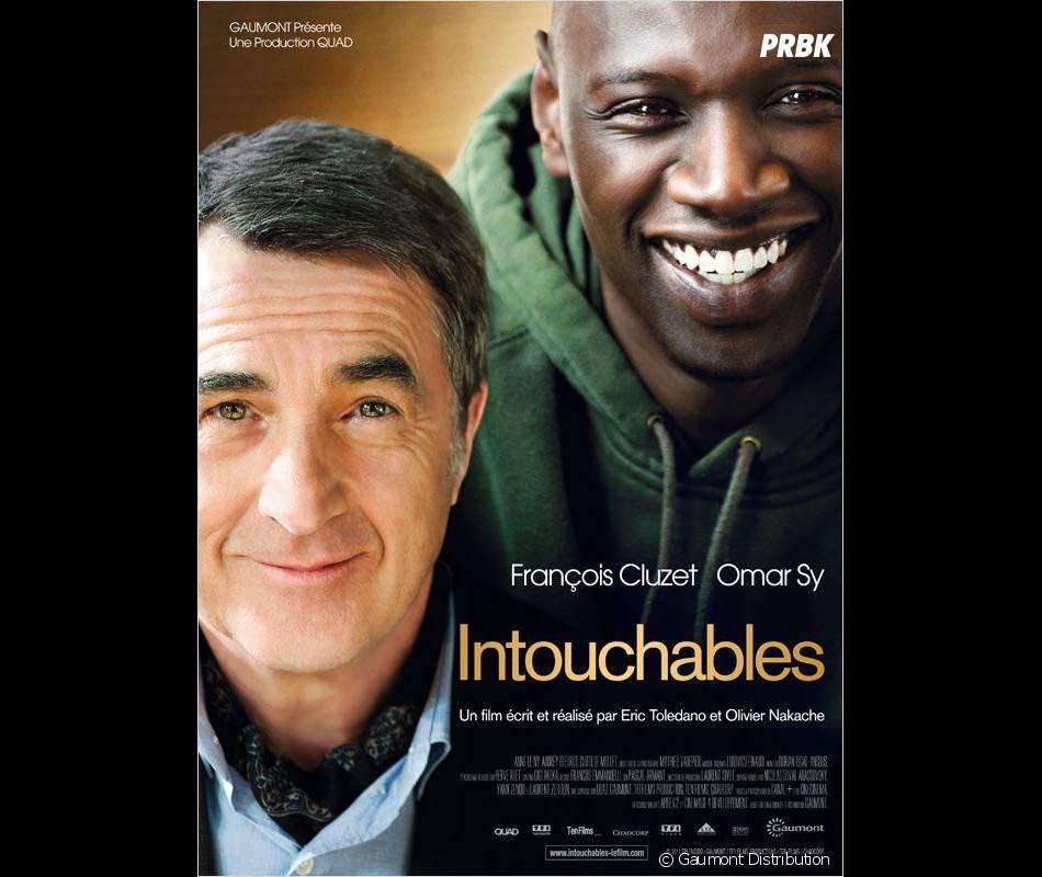 L'affiche d'Intouchables avec François Cluzet et Omar Sy