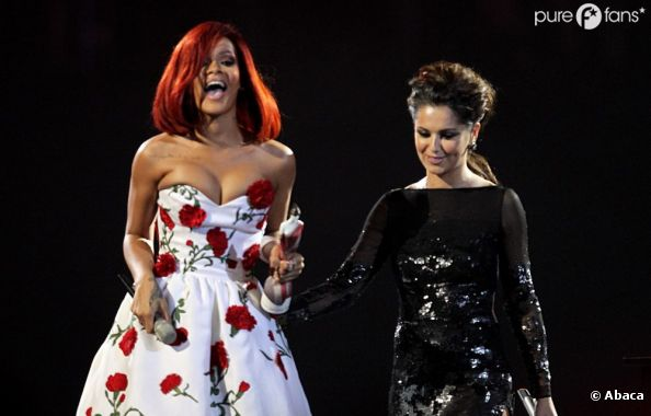 Les deux copines Rihanna et Cheryl Cole bientôt en duo