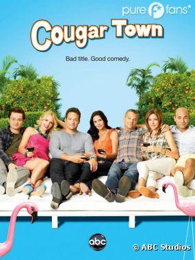Nouveau poster de Cougar Town