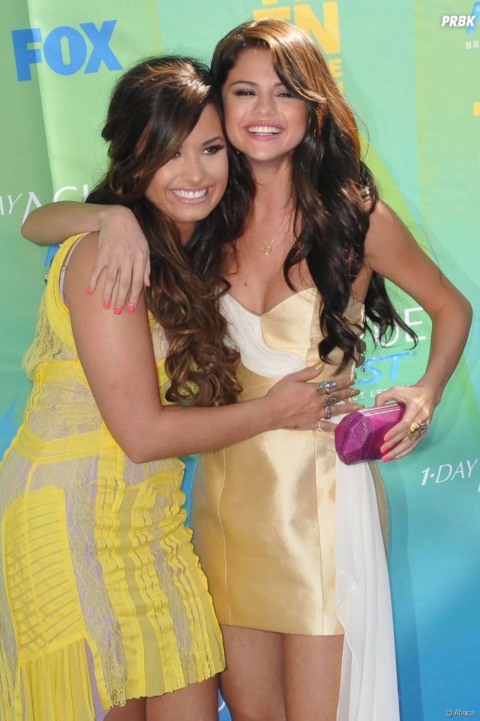 Selena Gomez et l'une de ses meilleures amies, Demi Lovato
