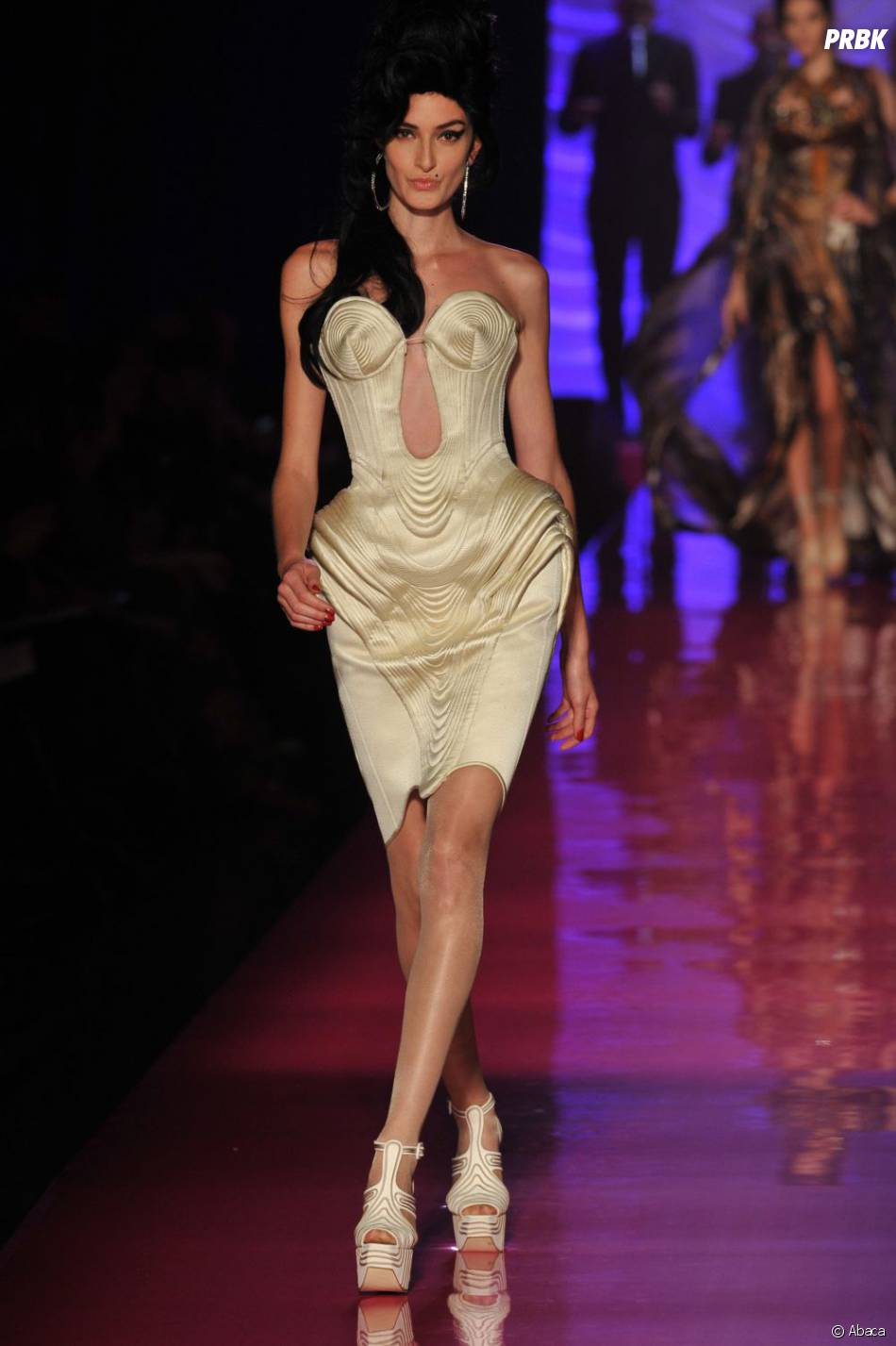 Le défilé Gaultier rendait hommage à Amy Winehouse
