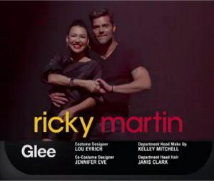 Trailer de l'épisode 12 de la saison 3 de Glee avec Ricky Martin