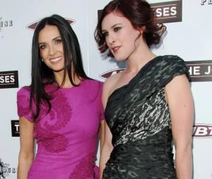 Demi Moore et sa fille, Rumer Willis