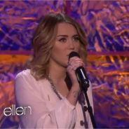 Miley Cyrus chez Ellen DeGeneres : pour elle, Bob Dylan c'est du gâteau ! (VIDEO)