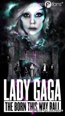 Born This Way Ball Tour l'affiche
