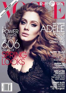 Adele, sexy et sublime en couv de Vogue