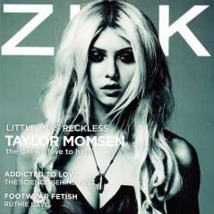 Taylor Momsen : toujours aussi sexy-provoc en couv' de Zink (PHOTO)