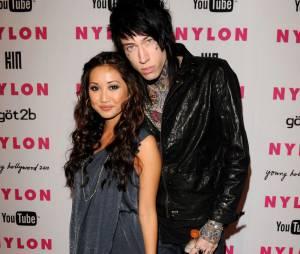 Trace Cyrus avec sa fiancée, Brenda Song