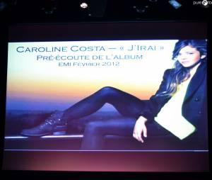 Pré-écoute du nouvel album de Caroline Costa !