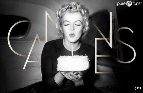 Marilyn Monroe à l'affiche du Festival de Cannes 2012
