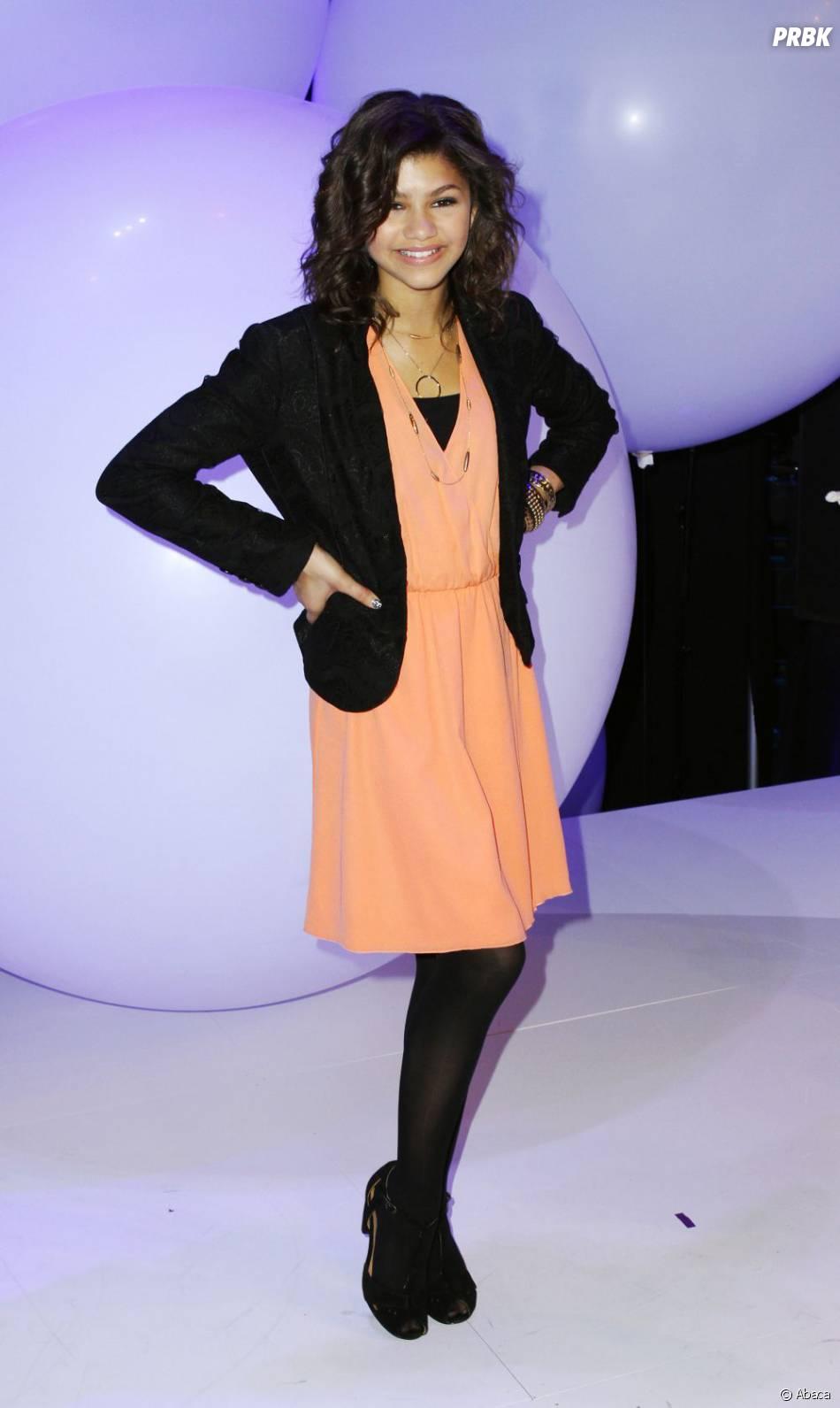 Zendaya, trop belle dans sa robe corail