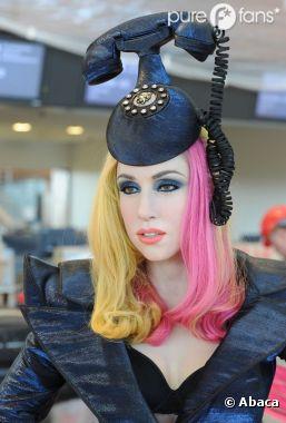 Lady Gaga en statue de cire, étrange !