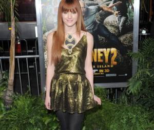 Bella Thorne sur le tapis rouge