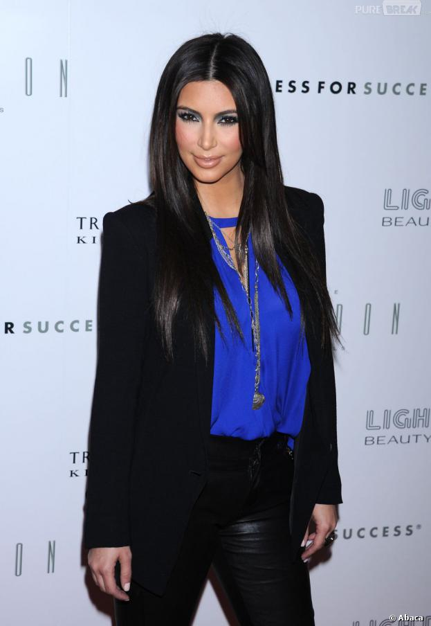 Kim Kardashian avant l'incident.