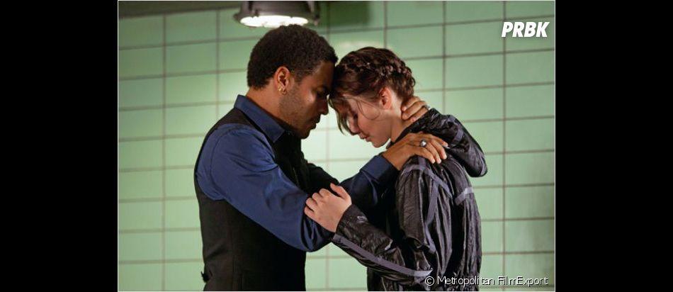 Cinna et Katniss dans Hunger Games