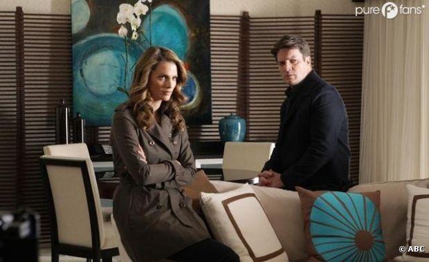 Jalousies et tensions au programme de la fin de la saison 4 de Castle