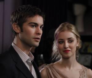 Nate et Lola dans Gossip Girl