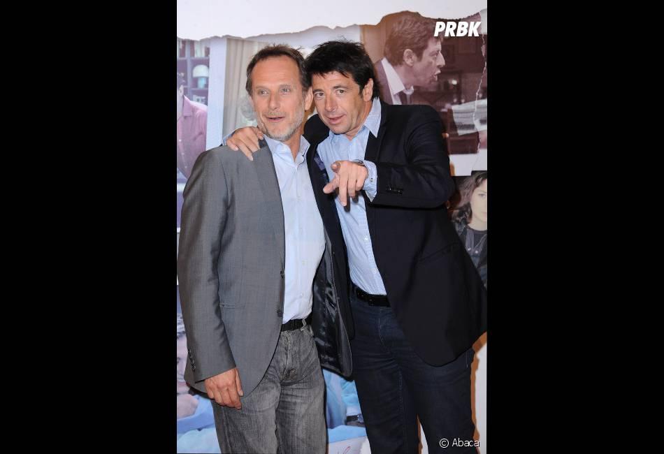 Patrick Bruel et Charles Berling, très complices