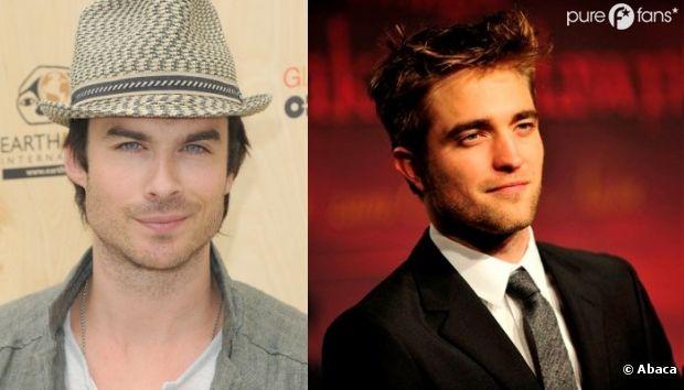 Ian Somerhalder vs Robert Pattinson !