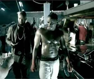 Akon tout en muscle pour Hurt Somebody