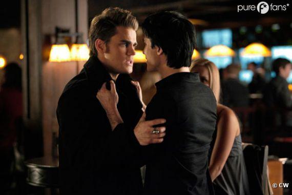 Damon vs Stefan pour le coeur d'Elena !