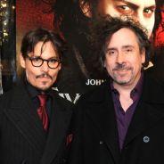 Dark Shadows  : Johnny Depp, vampire tordant avec Tim Burton et papa poule à la maison !