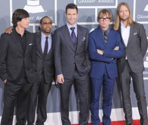 Les Maroon 5 au complet