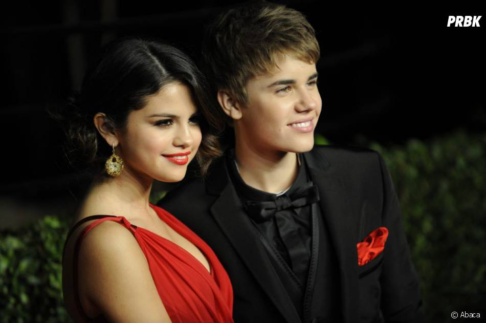 selena gomez et son mec justin bieber un couple so cute. Black Bedroom Furniture Sets. Home Design Ideas